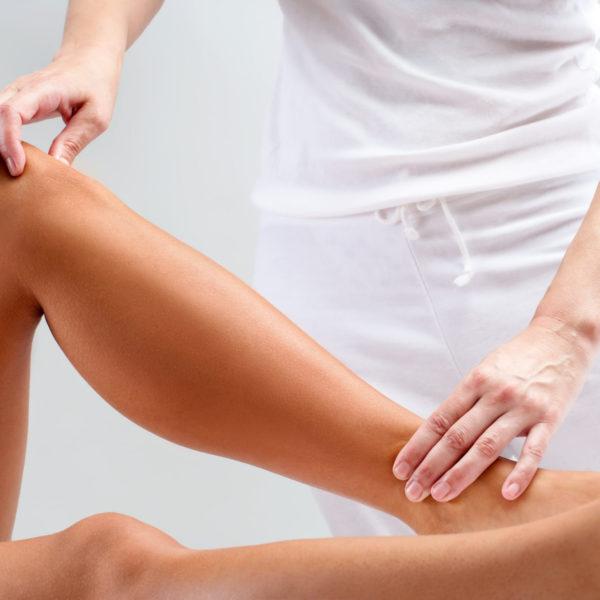 Muskeltest bei der Kinesiologie